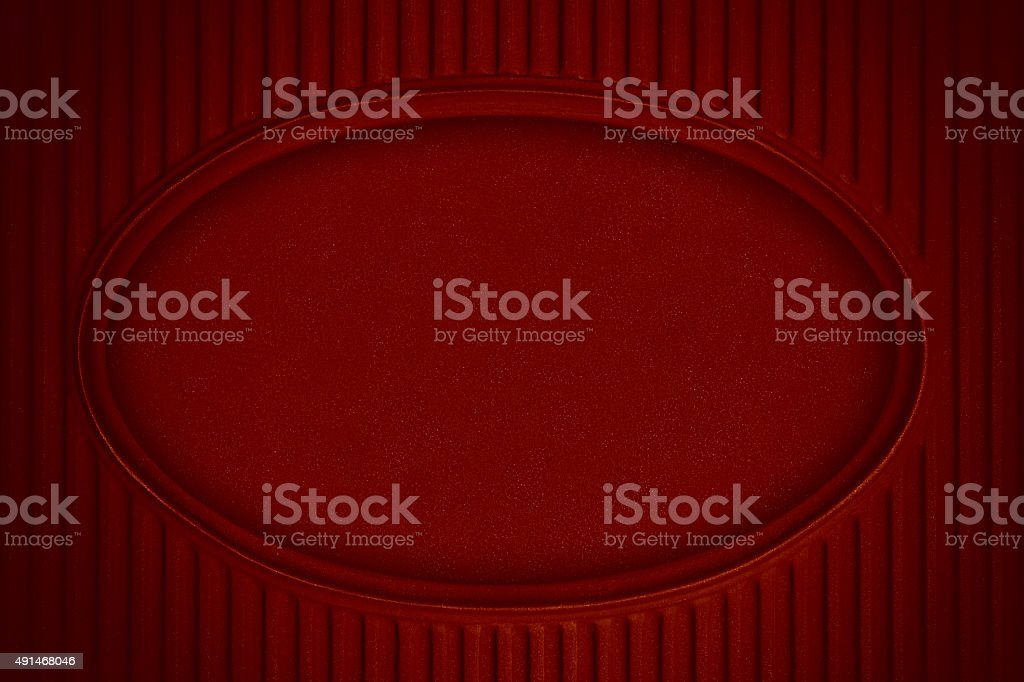 eliptic form red background stock photo