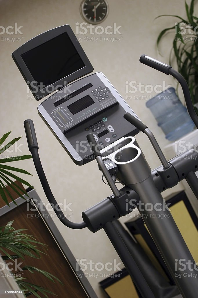 Eliptical Machine royalty-free stock photo