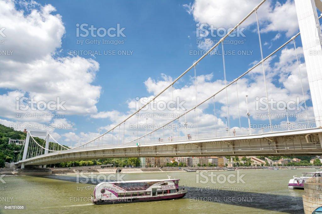 Elisabeth Bridge, Budapest, Hungary stock photo
