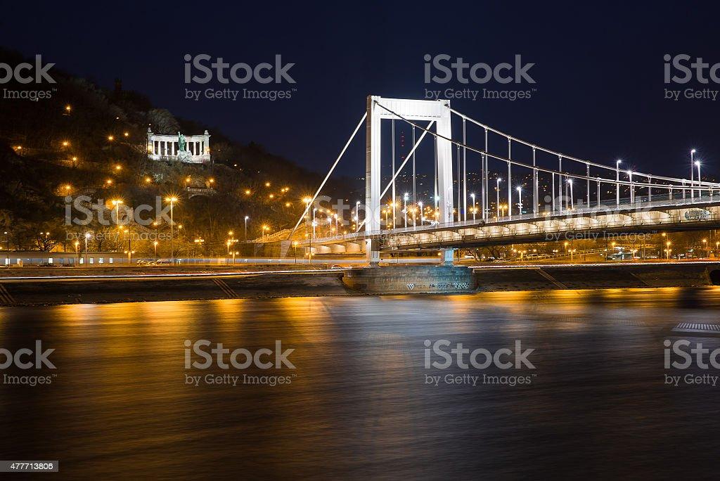 Elisabeth Bridge stock photo