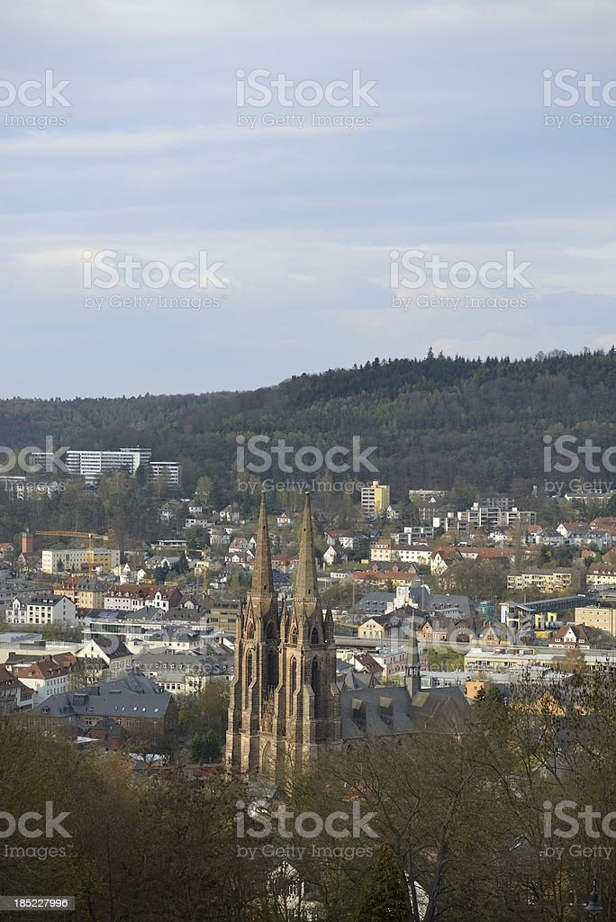'Elisabeth curch in Marburg, Germany' stock photo
