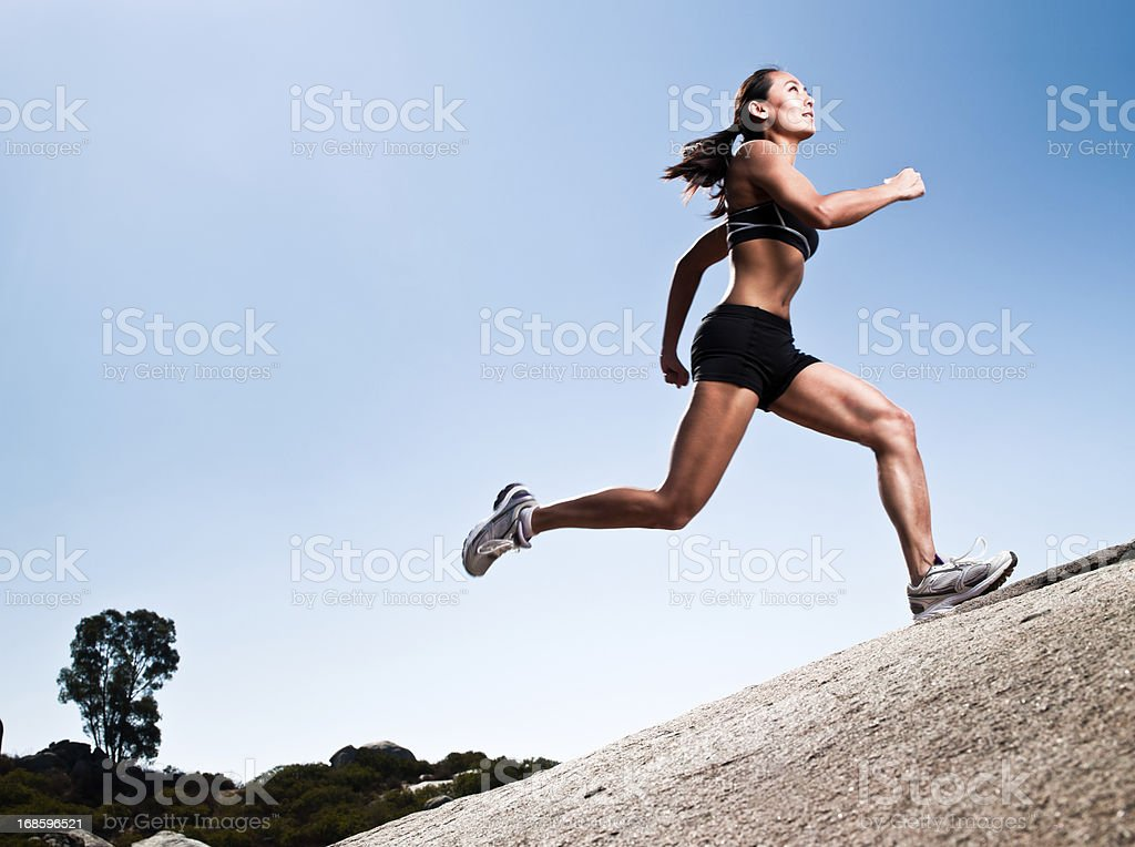 Elite Athlete royalty-free stock photo