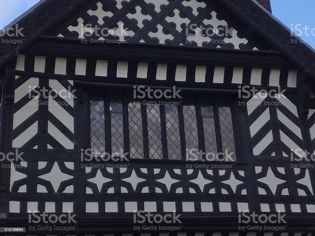Elizabethan architecture stock photo