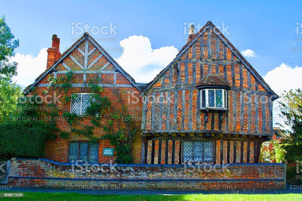 Elizabethan Cottage Buckinghamshire England stock photo