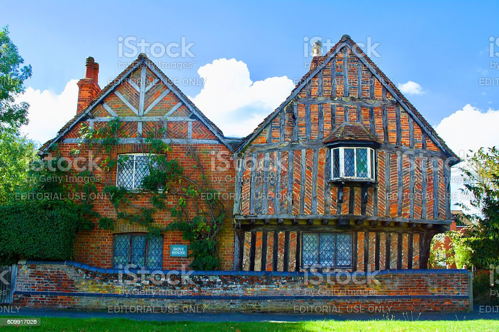 Elizabethan Cottage Buckinghamshire England stock photo