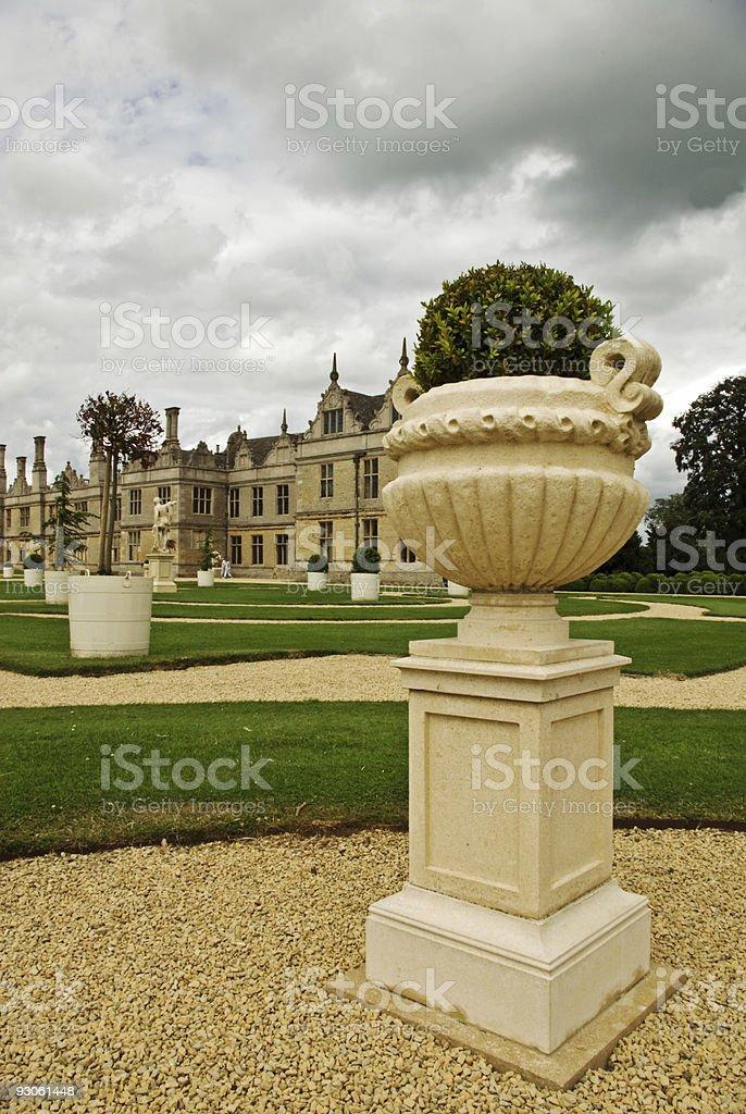 Elizabethan garden stock photo