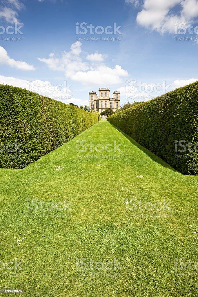Elizabethan Hall in England stock photo