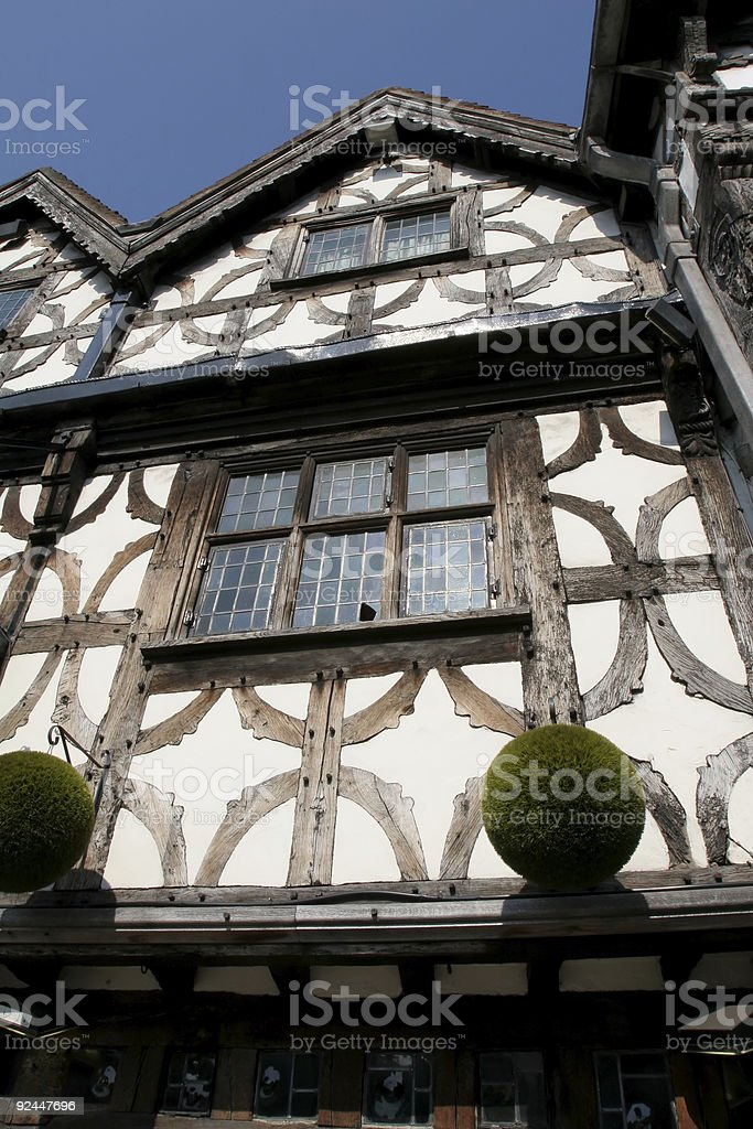 Elizabethan House royalty-free stock photo