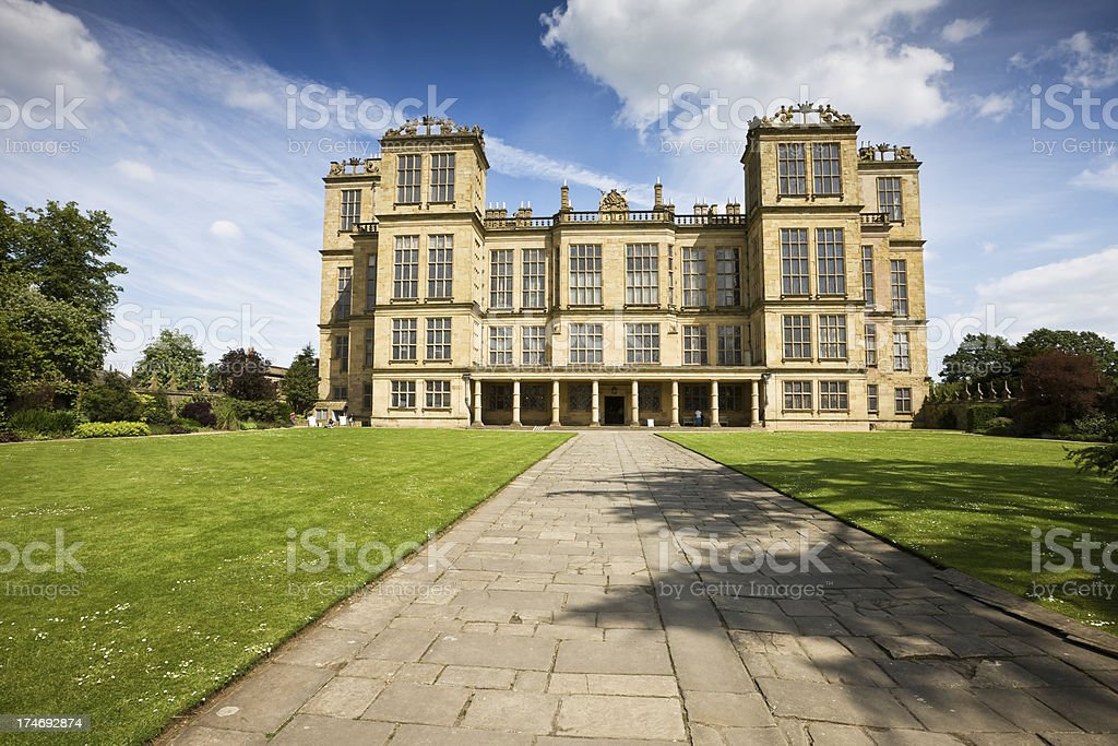 Elizabethan Mansion Facade royalty-free stock photo