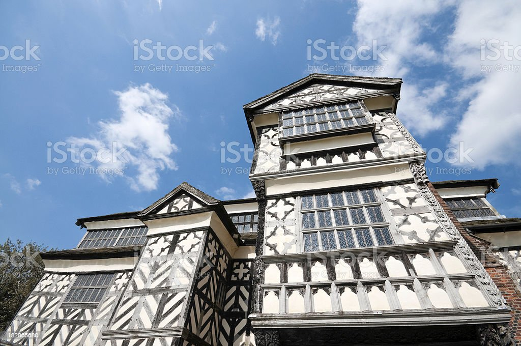 Elizabethan Mansion royalty-free stock photo
