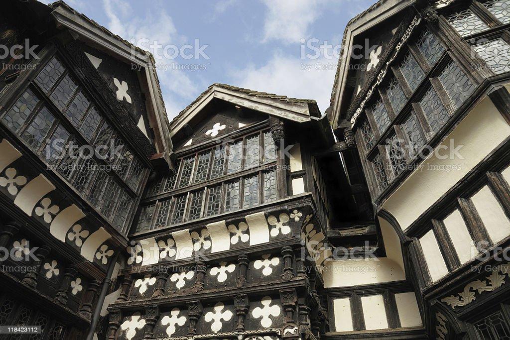 Elizabethan Windows royalty-free stock photo