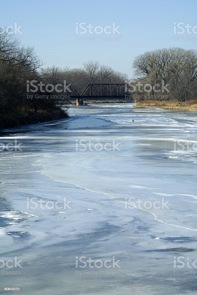 Elkhorn Train Bridge royalty-free stock photo