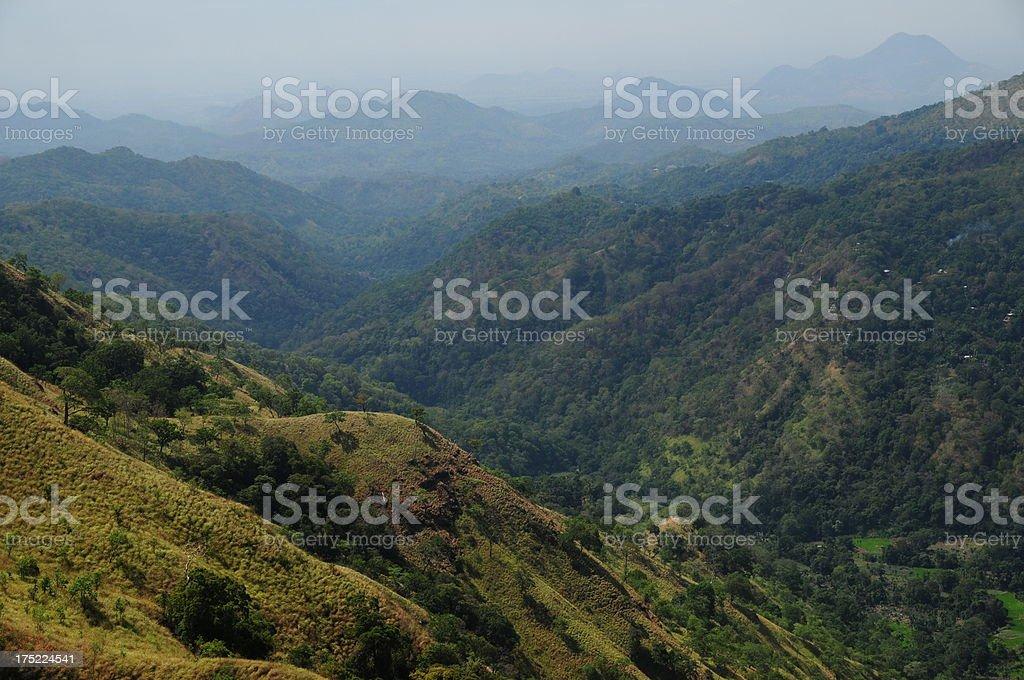 Ella,Hill country, Sri Lanka. royalty-free stock photo