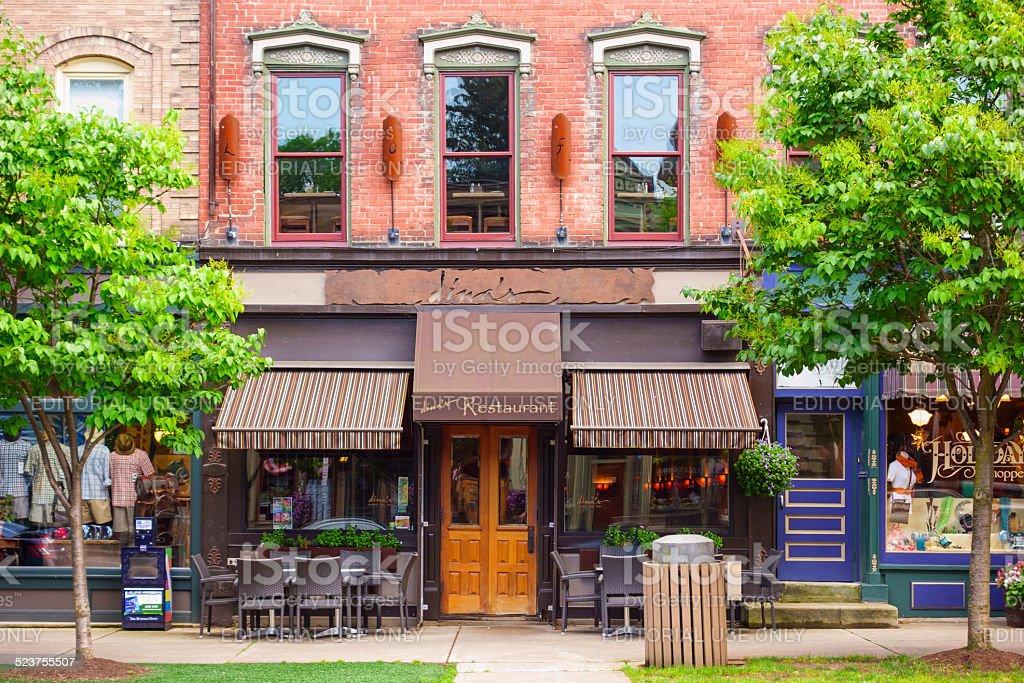 Ellicottville, New York, USA stock photo