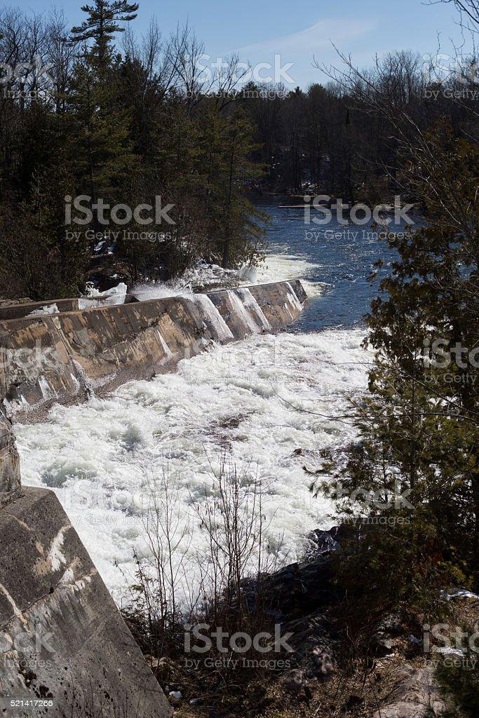 Elliot Falls stock photo