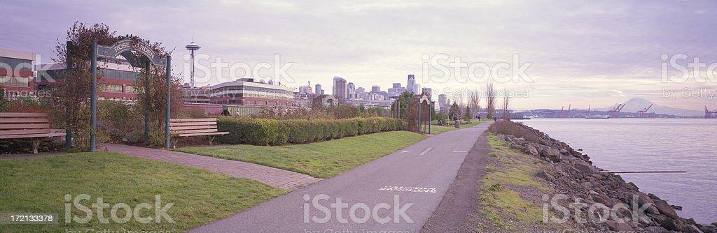 Elliott Park, Seattle, Washington, United States royalty-free stock photo