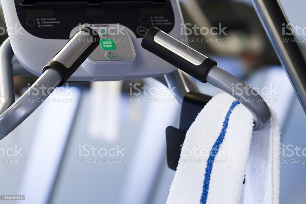 Elliptical machine royalty-free stock photo