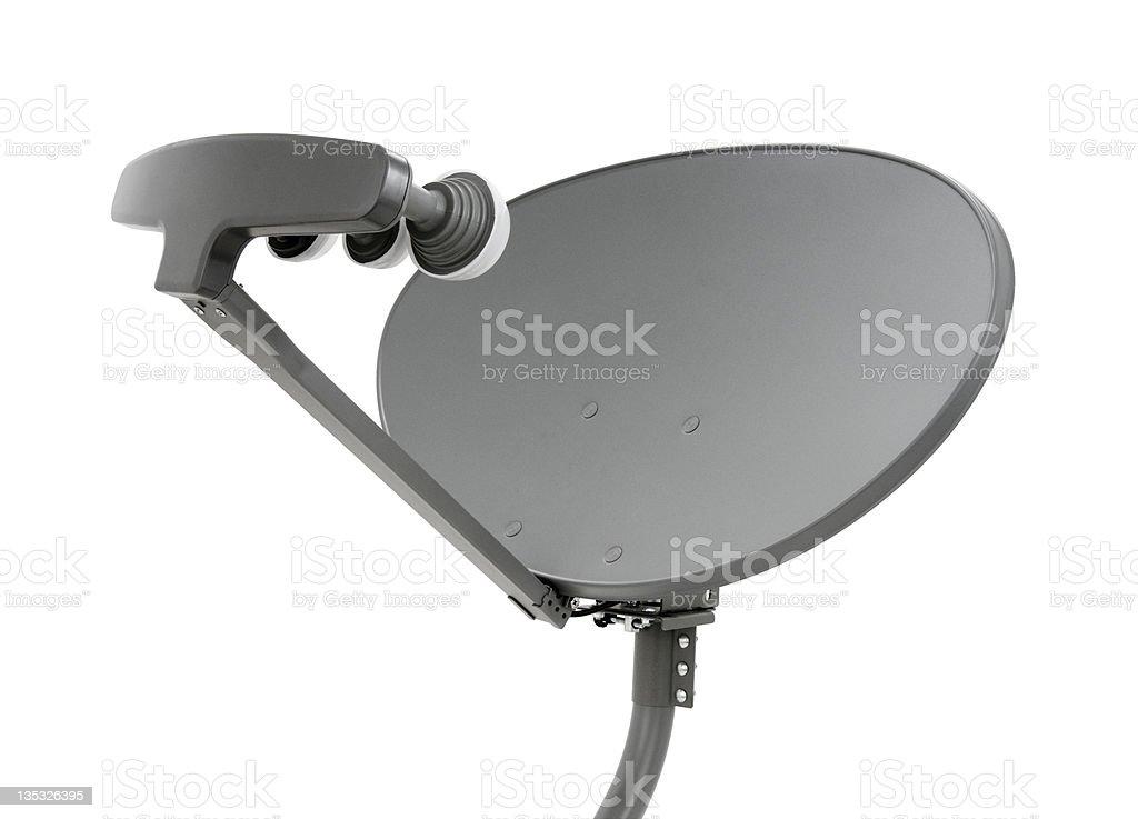 Elliptical Satellite Dish royalty-free stock photo