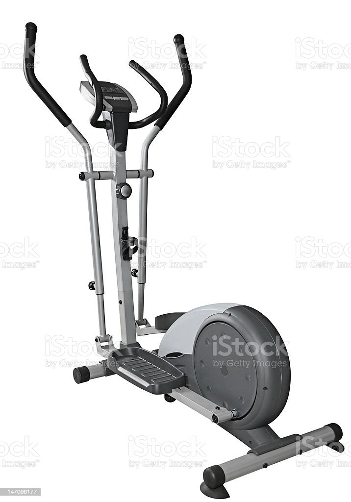 Elliptical trainer royalty-free stock photo