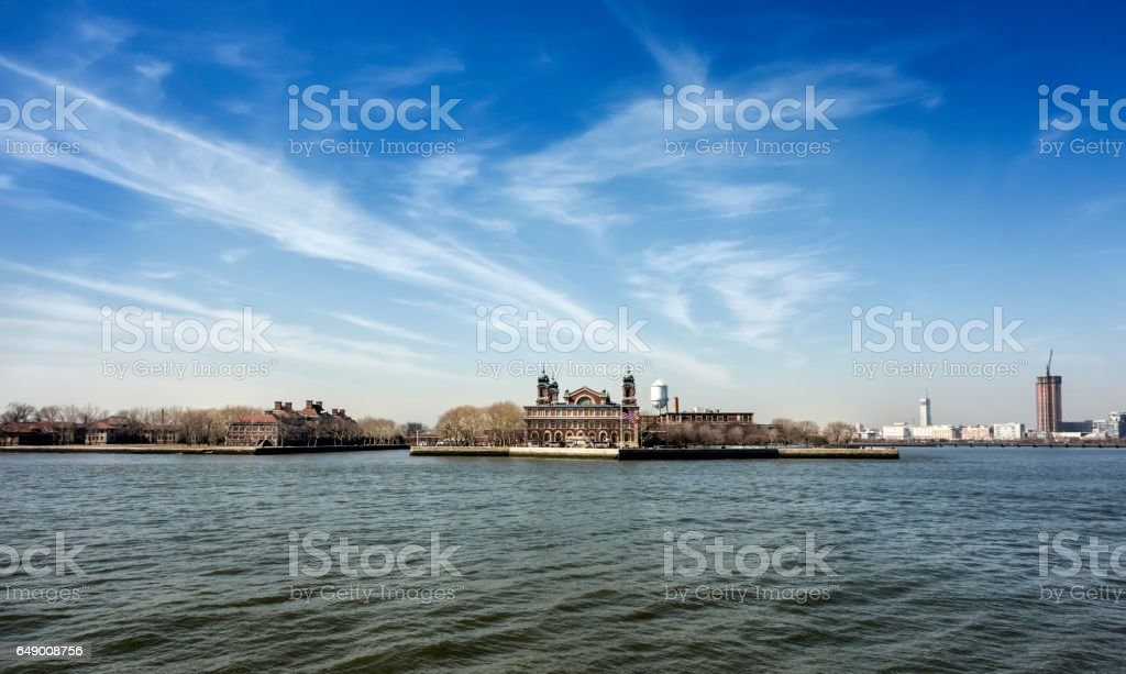 Ellis Island - New York City stock photo