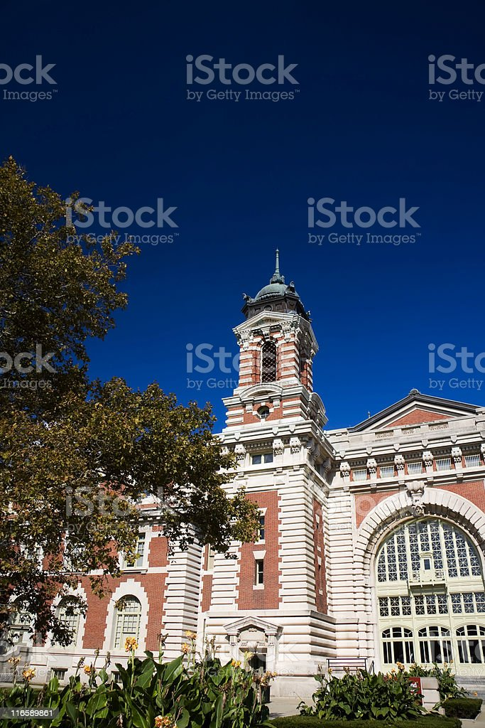 Ellis Island royalty-free stock photo