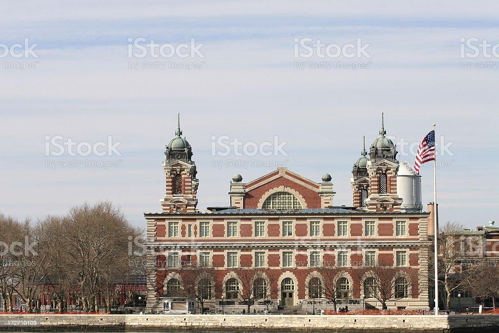 Ellis Island royalty-free stock photo