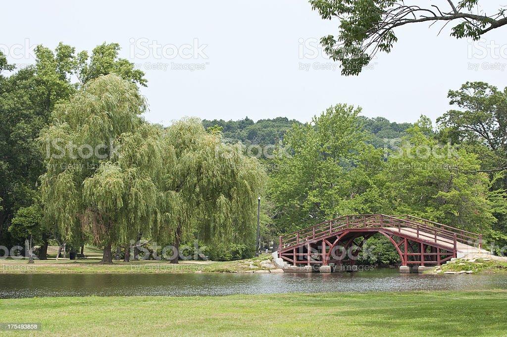 Elm Park Worcester Ma stock photo