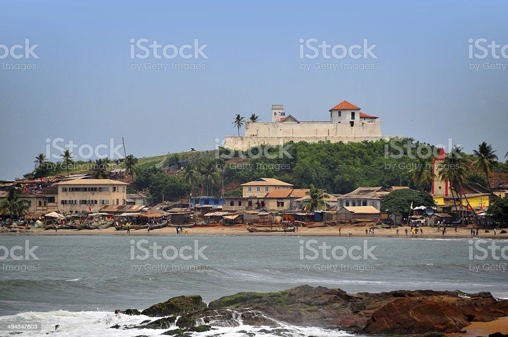 Elmina, Ghana: Fort S?o Tiago / Coenraadsburg stock photo