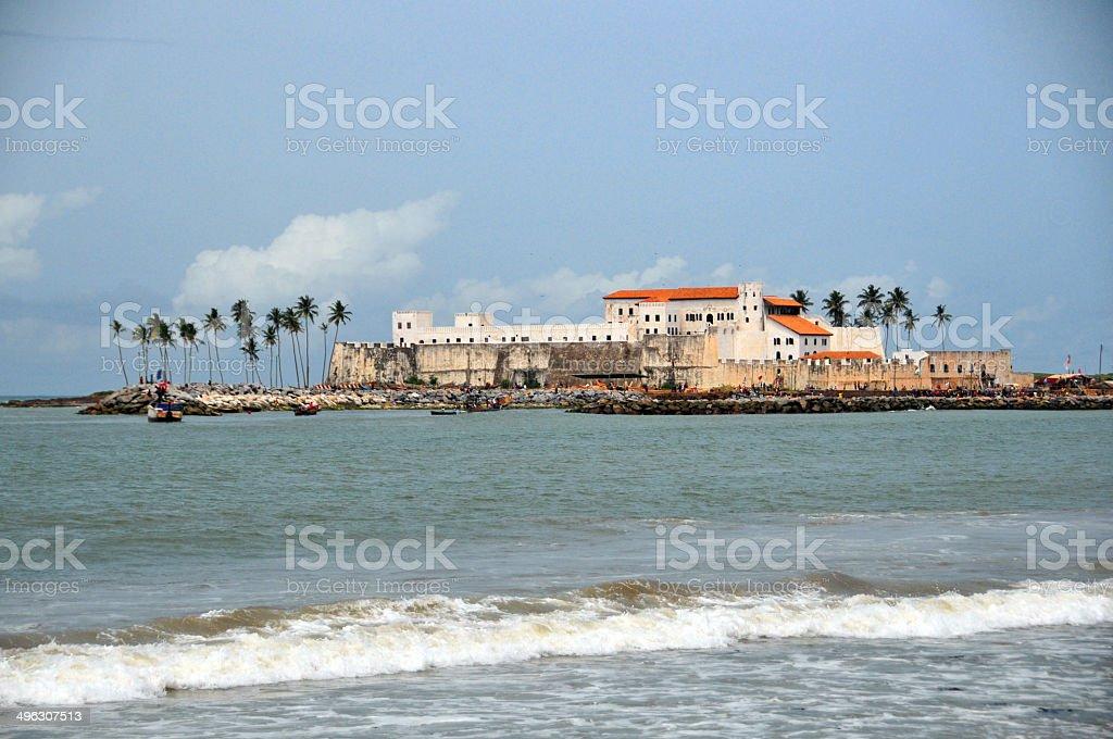 Elmina, Ghana, West Africa: Elmina Castle stock photo