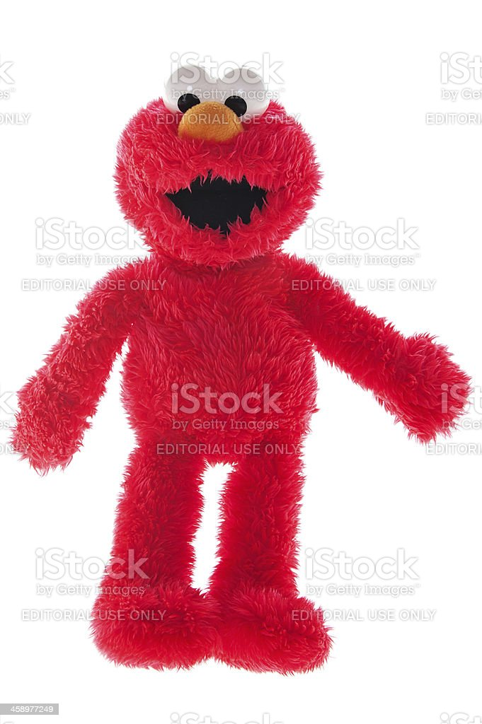 Elmo royalty-free stock photo