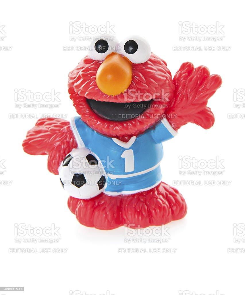 Elmo Plastic Toy - Sesame Street stock photo