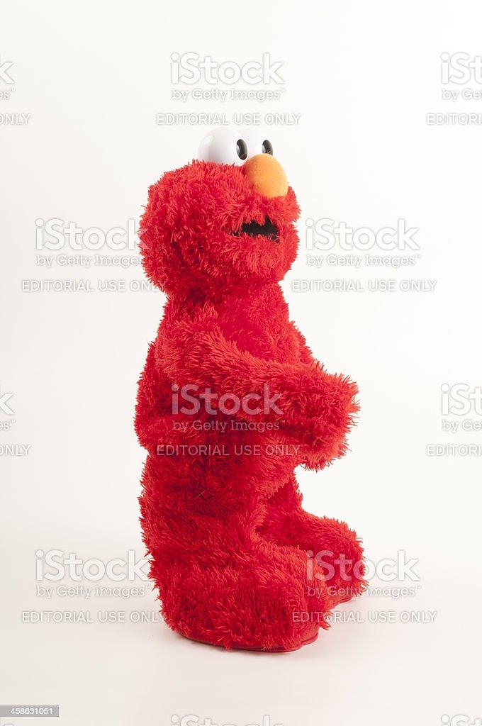 Elmo Plush Toy Profile stock photo