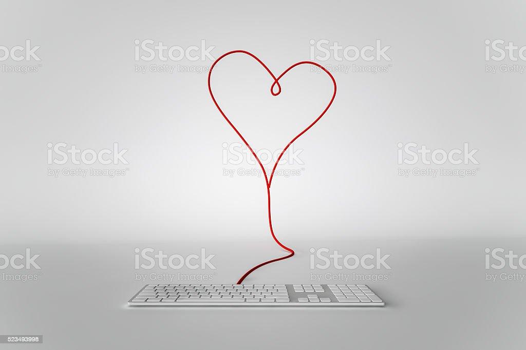 E-Love stock photo