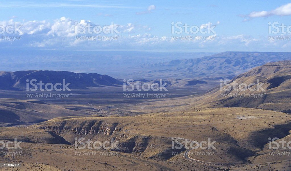 ElPaso Gap royalty-free stock photo