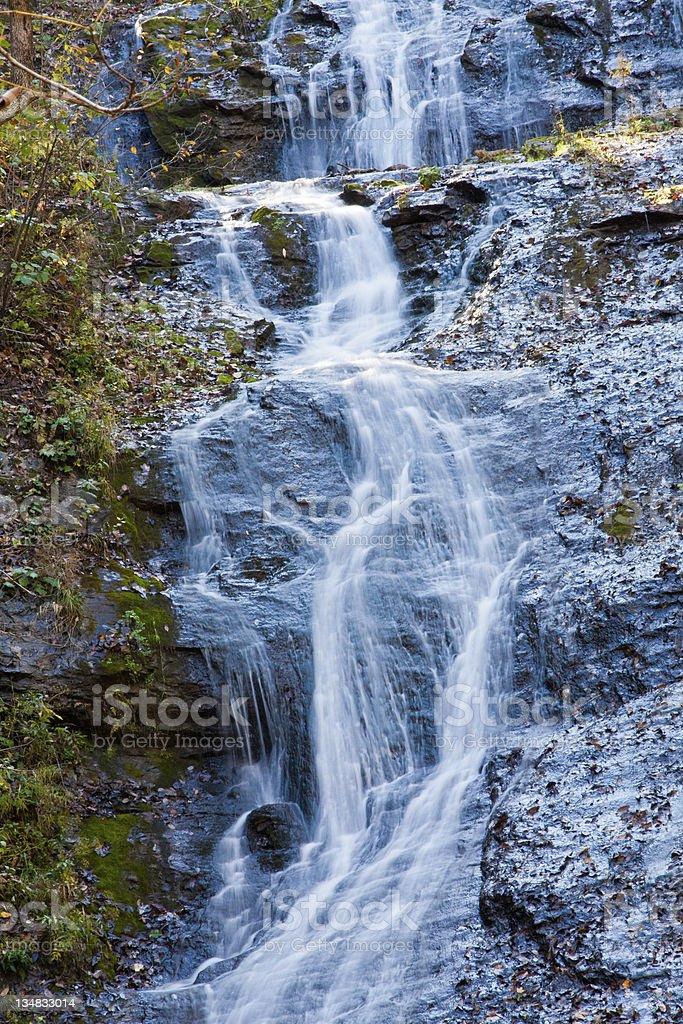 Elrod Falls stock photo