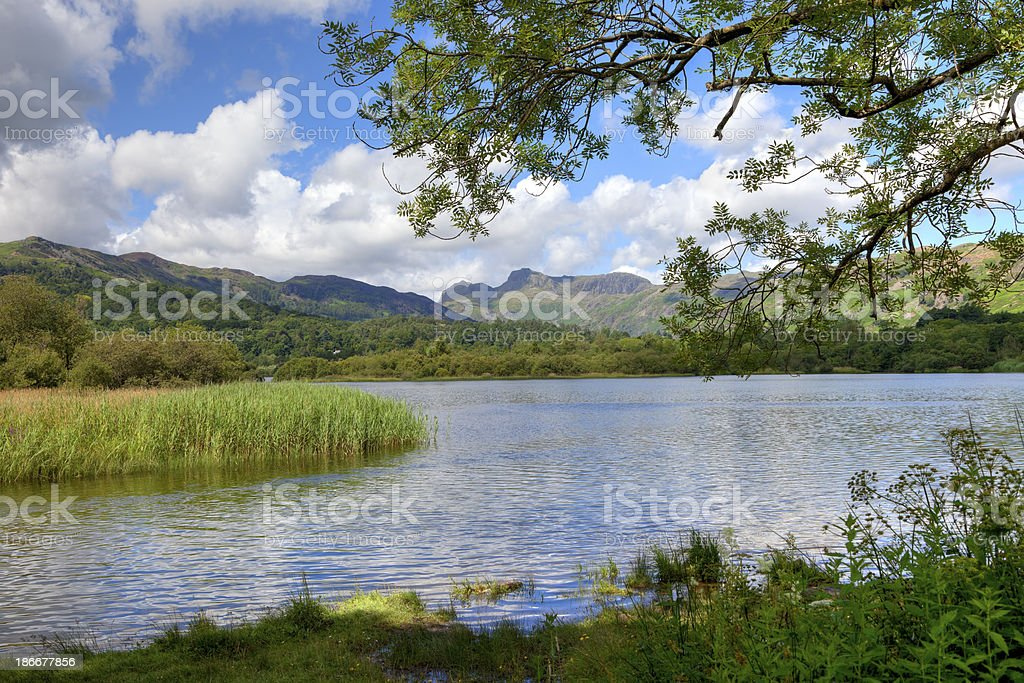 Elterwater stock photo