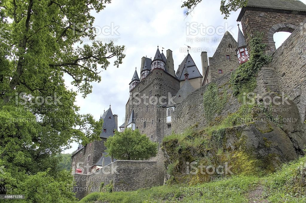 Eltz Castle (Burg Eltz), Germany. stock photo