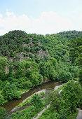 Eltz river on the Eifel region