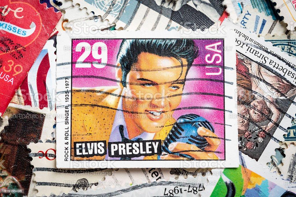 Elvis stock photo