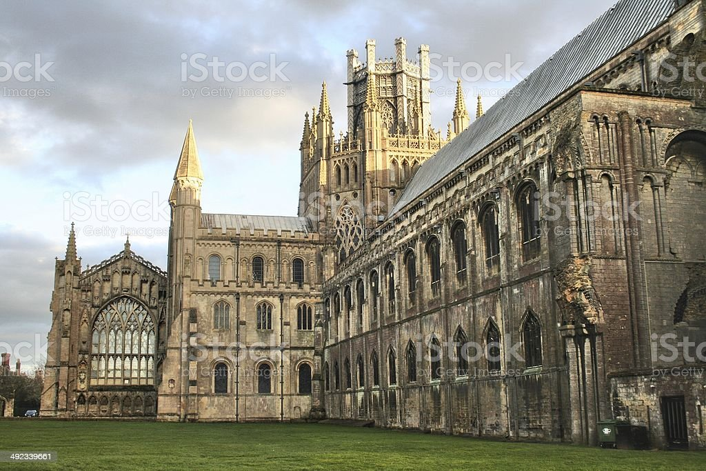 Ely Cathedral - North Side stock photo