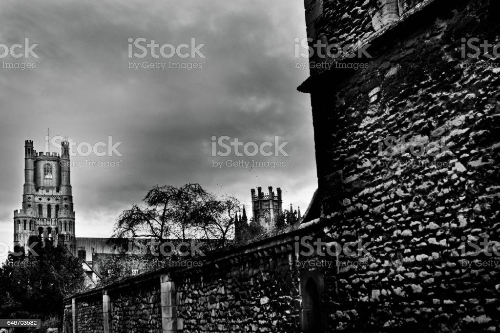 Ely Cathedral stock photo