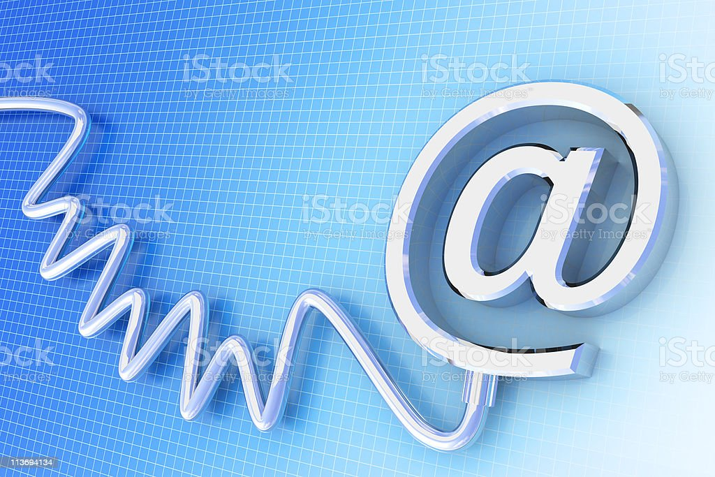 Email background royalty-free stock photo
