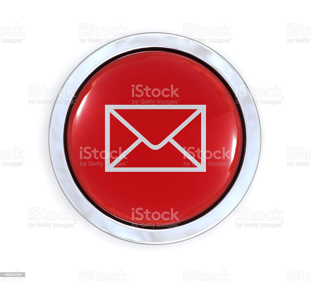 E-Mail Button royalty-free stock photo