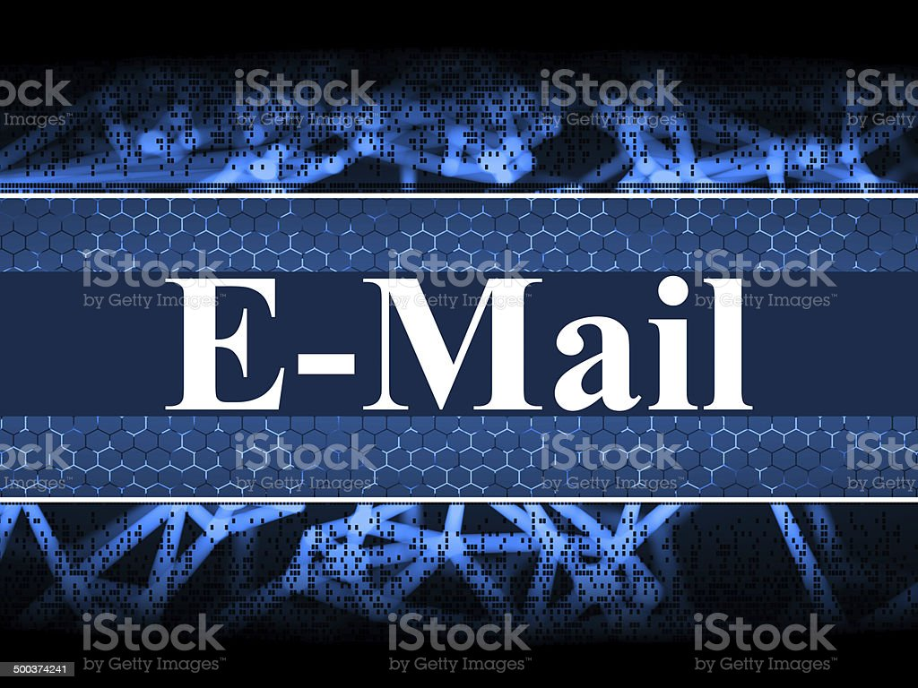 Email Connections royalty-free stock photo