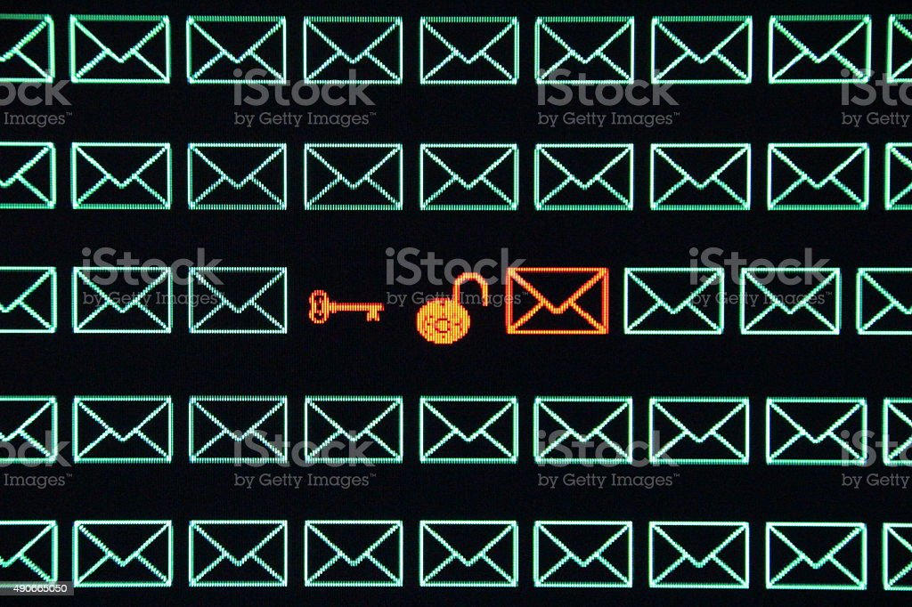 Email Encryption stock photo