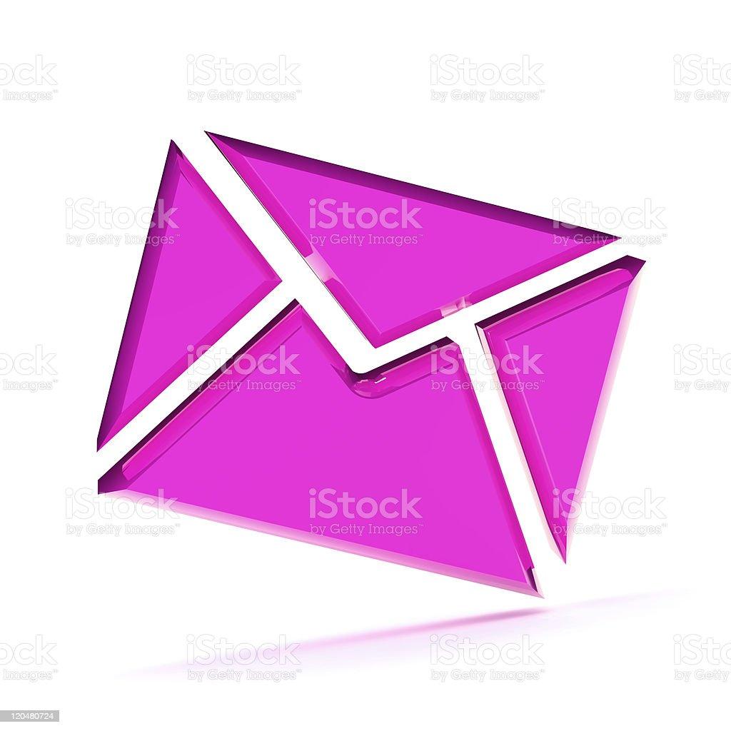 Email Envelope Illustration stock photo