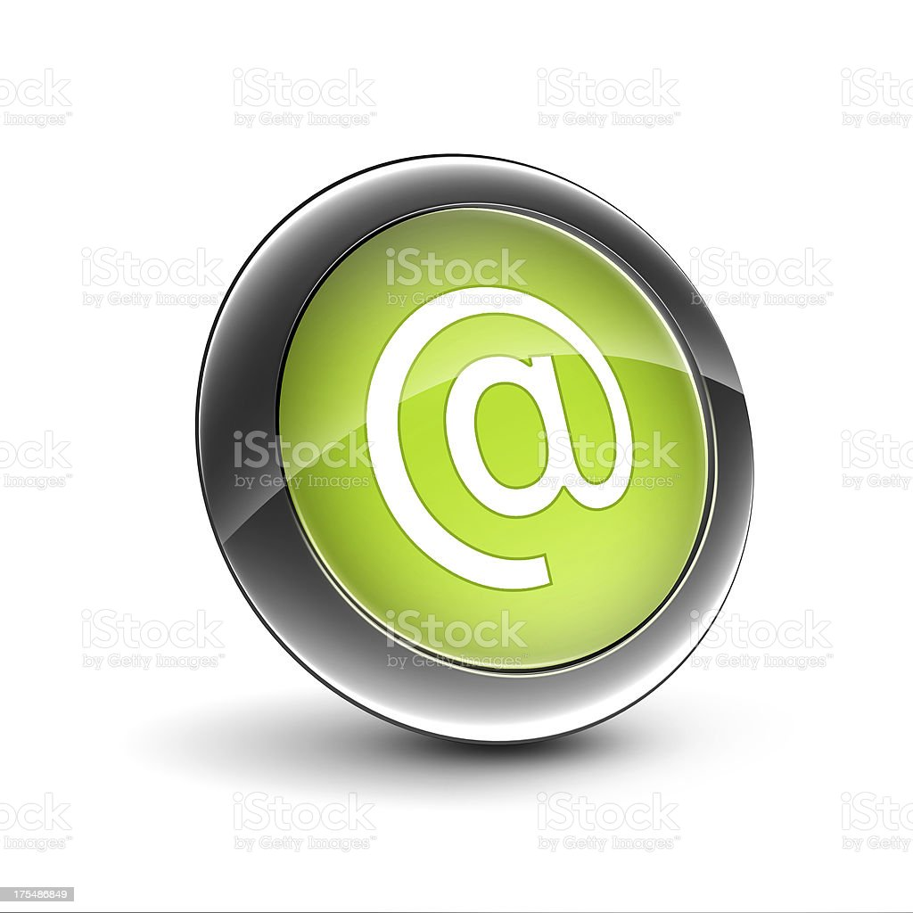 E-mail icon stock photo