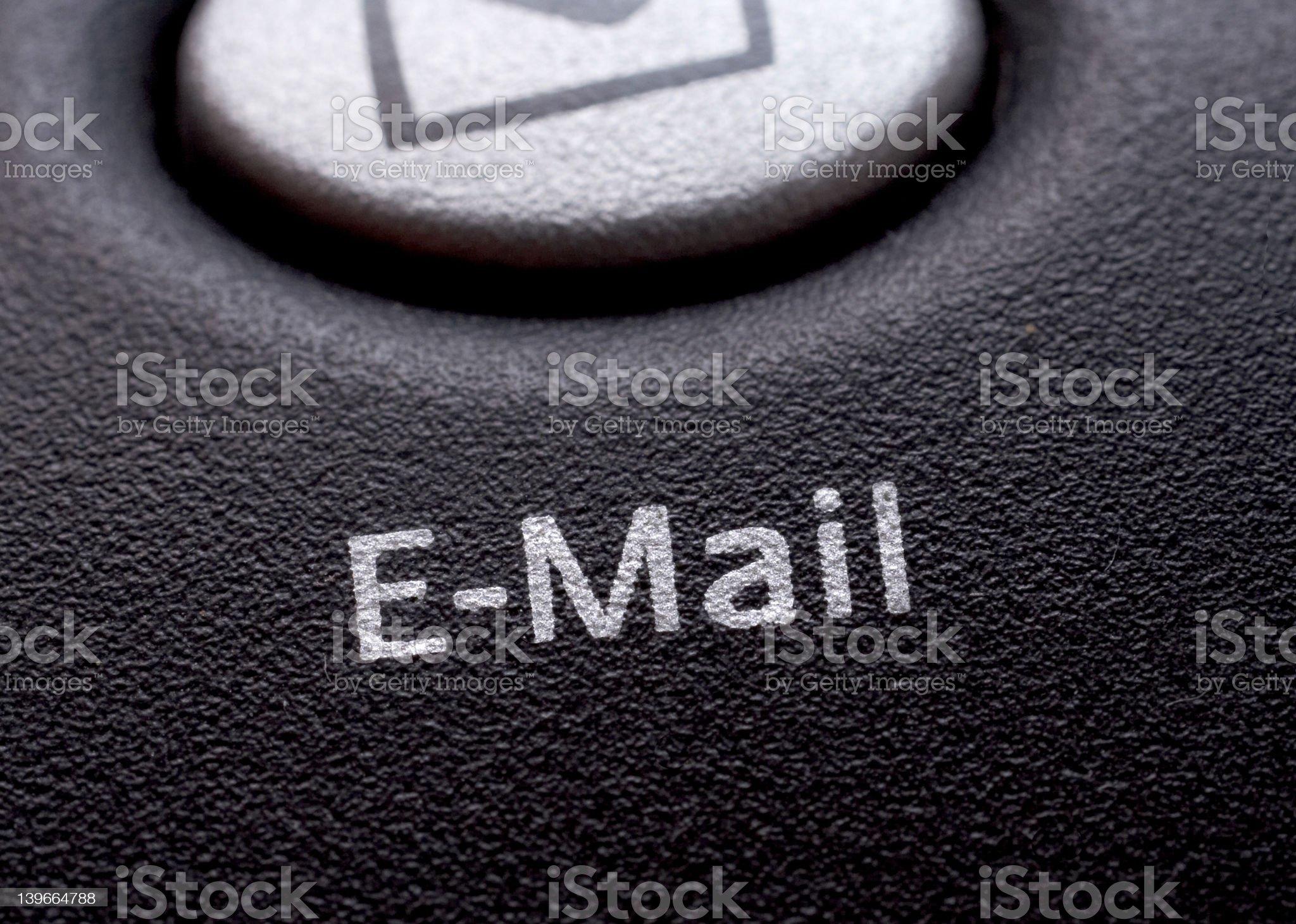 Email Key. royalty-free stock photo