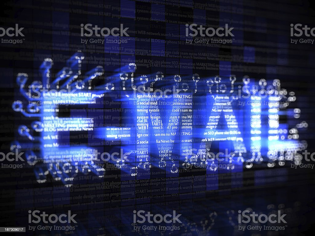 E-mail stock photo