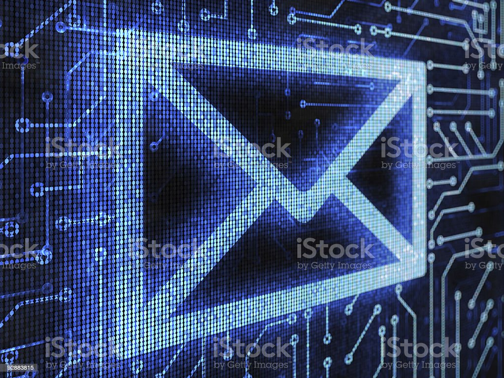 E-mail royalty-free stock photo